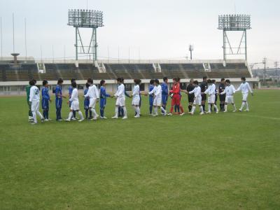 中国選手権2回戦 vs山口大学 2010/5/22/土「握手」