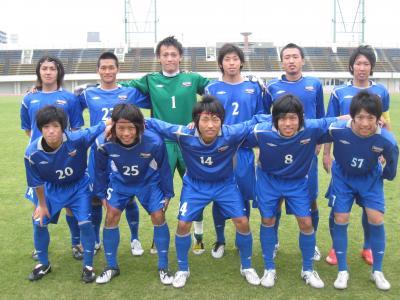 中国選手権2回戦 vs山口大学 2010/5/22/土「スタメン」