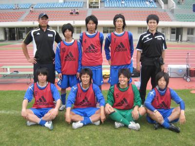 中国選手権2回戦 vs山口大学 2010/5/22/土「sub」
