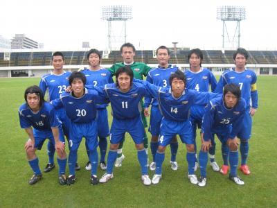 2010 総理大臣杯予選 vs岡山大学(5/23/日)「スタメン」
