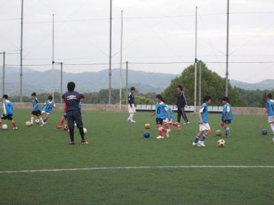 西地区トレセン(2010/5/24/月)「トレーニング2」