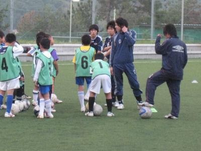 西地区トレセン(2010/5/24/月)「トレーニング3」
