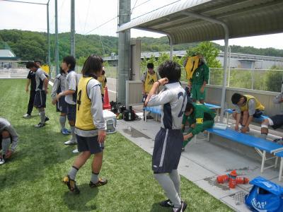 2010中国L/第4節 vsIPU(試合直前/準備風景)