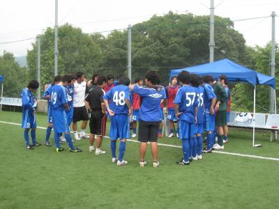 Iリーグ中国2010 vs徳山大(6/19/土)「試合前MTG」