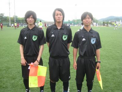 Iリーグ中国2010 vs徳山大(6/19/土)「審判団」