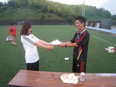 監督誕生日(2010/7/14/水)