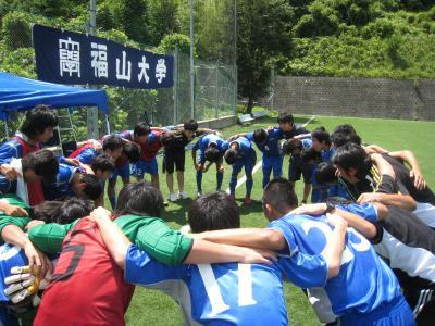 2010 中国L 第6節 vs広大(7/18/日)『円陣』