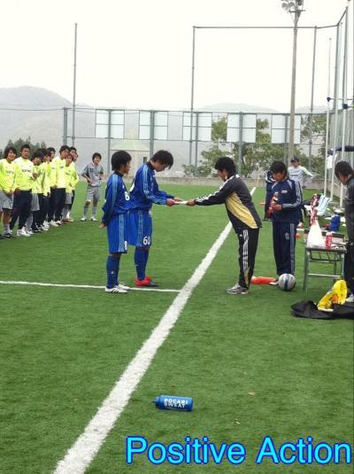 Iリーグ中国2010(プレーオフ第3戦)vsIPU [表彰式]