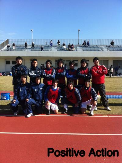 2010 県社リーグ 入れ替え戦 vsKARIOKA(12/5/日)[ベンチ]