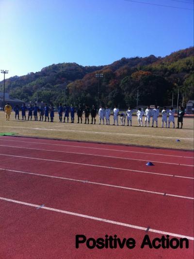 2010 県社リーグ 入れ替え戦 vsKARIOKA(12/5/日)[整列]