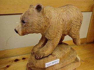 チェーンソー熊