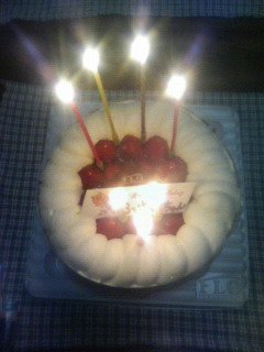 happybirthday自分43歳 ^^