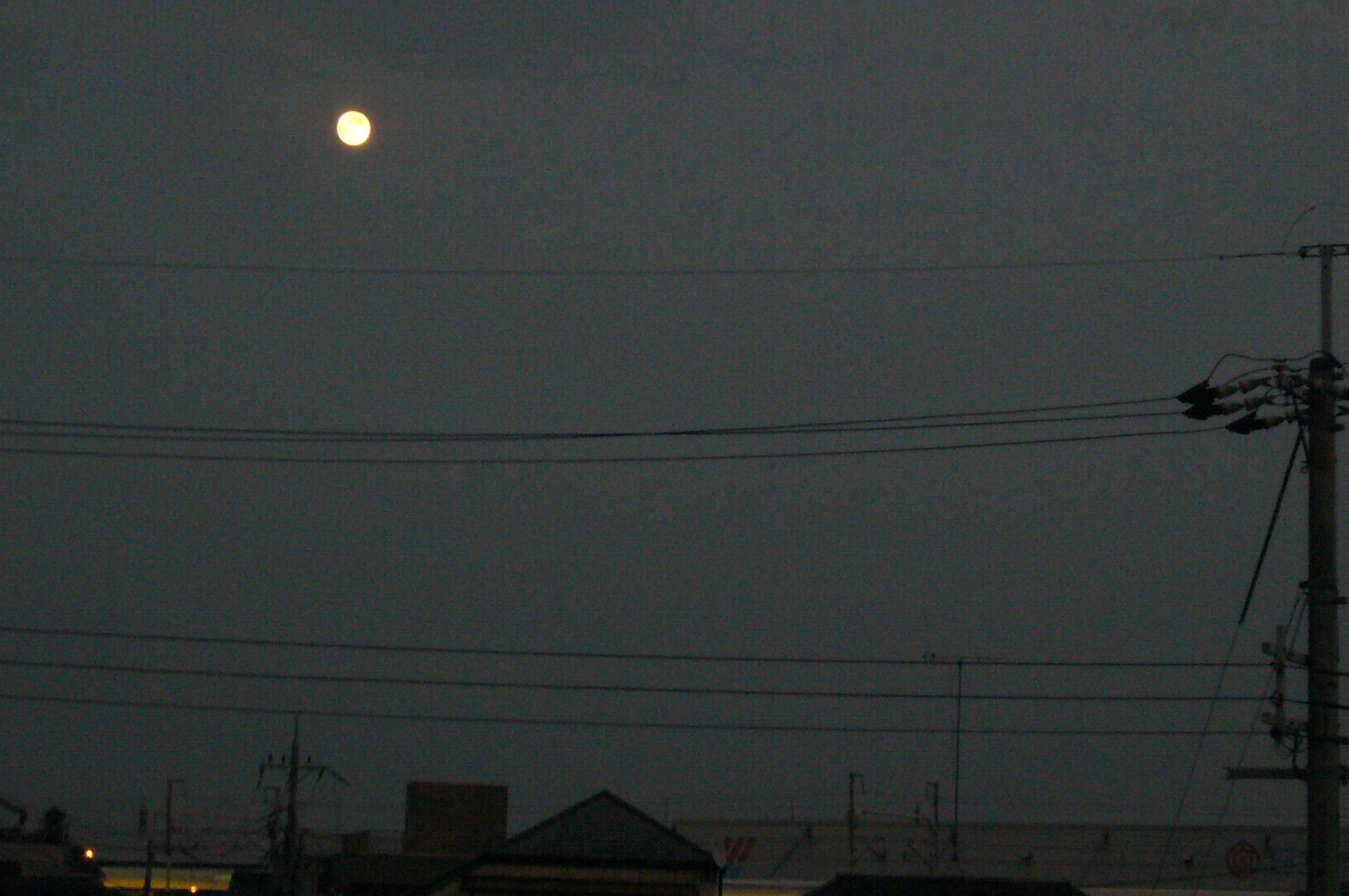 夕方の空です。