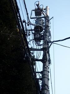 20111118 電柱西日暮里1_R