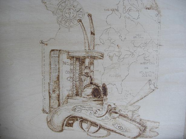 地図と拳銃1