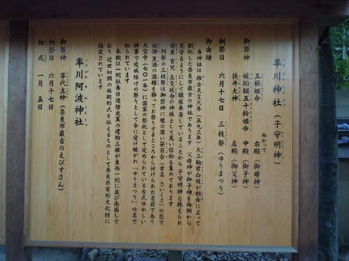 率川神社 謎