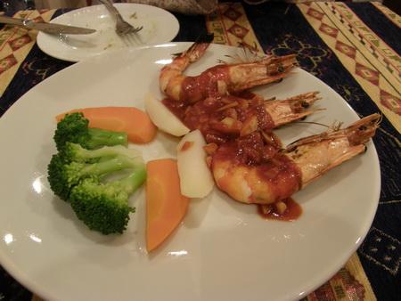 トルコ料理 えび