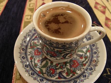 トルコ料理 食後のコーヒー
