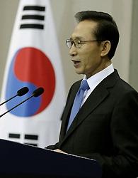 李明博(イ・ミョンバク)大統領