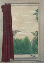 長谷川《窓とかまきり》 1930年 185x262