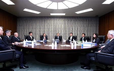 日銀本店で行われた金融政策決定会合 10月5日