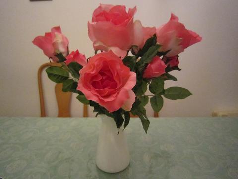 バラの造花