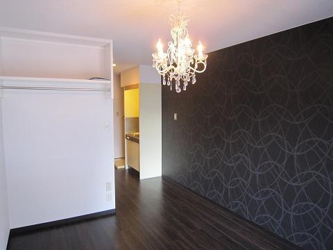 シャンデリアの部屋