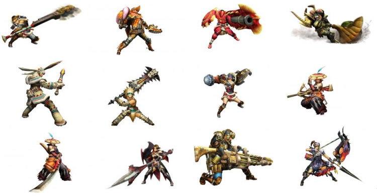 MHP3武器種