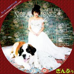 Norah Jones  「The Fall」 dvdラベル