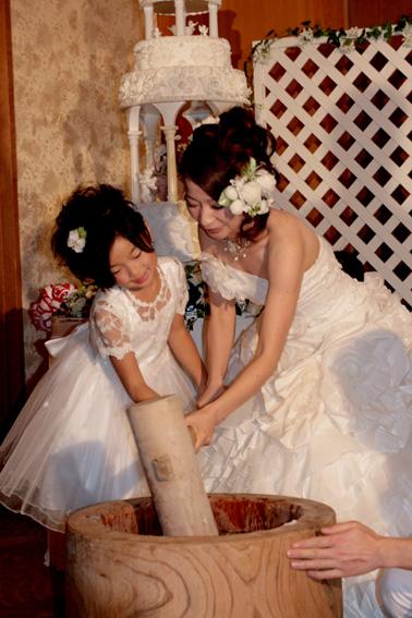 結婚式 075