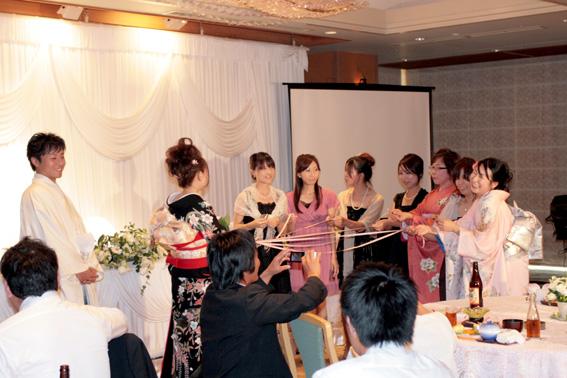 結婚式 204