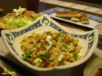 Aug07_焼き肉風味の炒飯