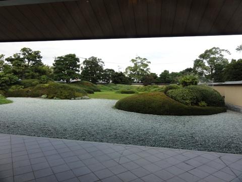 平山郁夫美術館庭園(2011.08.05)