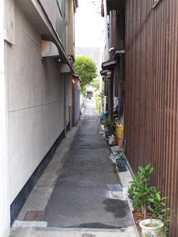 内地の路地(2011.08.05)