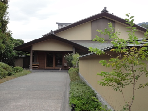 平山郁夫美術館母屋(2011.08.05)