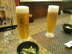 ビール♪(2011.08.05)