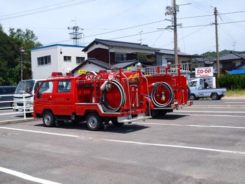 かわいい消防車(2011.08.08)