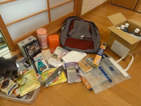備えのナカミ(2011.08.14)