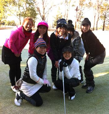 取手桜が丘ゴルフクラブ(藤代ゴルフ倶楽部)で女性のみでラウンド!