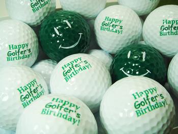 おもしろ&おしゃれゴルフボール