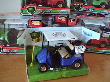 プルバック・ミニチュア・ゴルフカート