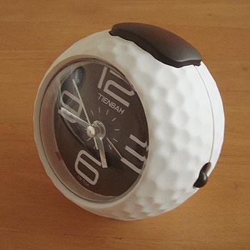 ゴルフボール型時計