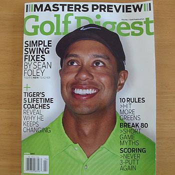 Golf Digest を楽しみました