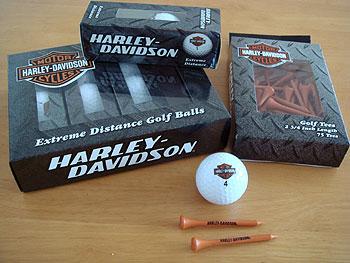 ハーレーダビットソンのゴルフアクセサリー!