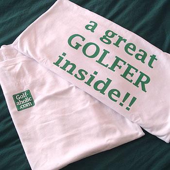 ゴルファーインサイド!マタニティTシャツ!