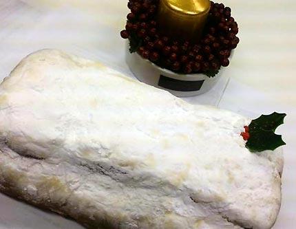 ドイツのクリスマスケーキ:シュトーレン