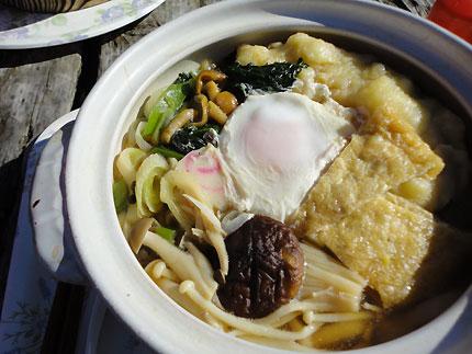 鍋割山 鍋焼きうどん (鍋割山荘:神奈川県)