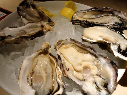新宿 旬の牡蠣 : ガンボ アンド オイスターバー(GUMBO AND OYSTERBAR) 新宿ルミネエスト店