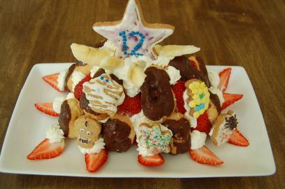 ルス12才の誕生日ケーキ