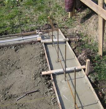 セメントと鉄筋